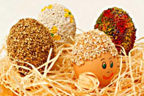 пасхальные яйца: как красиво покрасить яйца на пасху дома